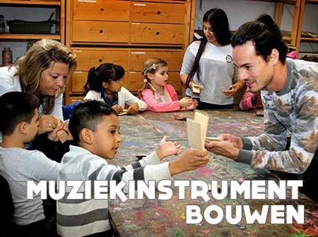 Muziekinstrument bouwen