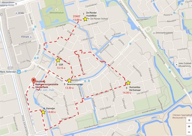 Route 24 september 2016